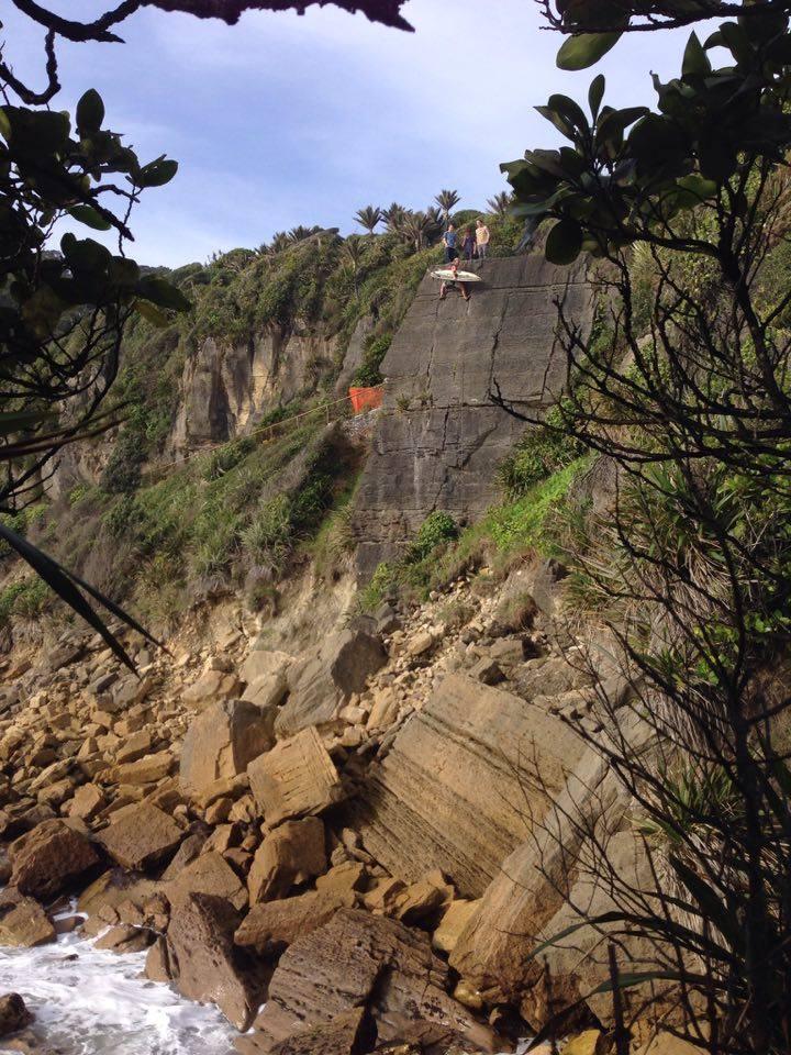 Great Wall of Punakaiki takes climbing spot