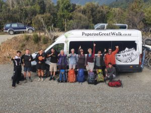Open 22 days, a recount of the Paparoa Track's first 3 weeks.