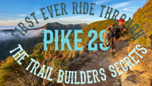 First ever ride through, Pike 29 Memorial Track!