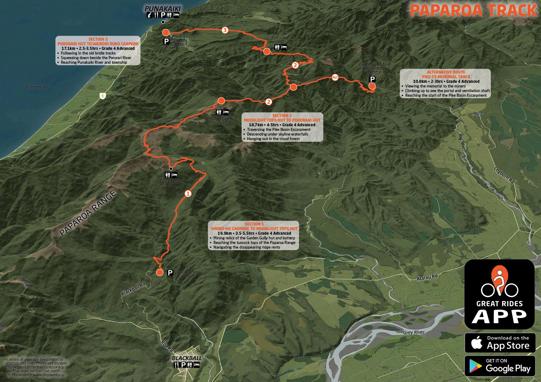 Paparoa Track Profile